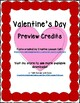 Valentine's Day Circle Frames Borders and Backgrounds Red Circle Borders