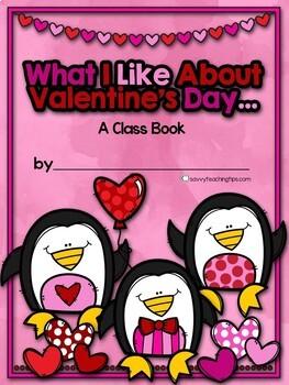 Valentine's Day Class Book