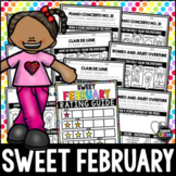 Valentine's Day Music Activities, February Activities, Sub Plans