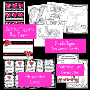 Valentine's Day Classroom Essentials Bundle!