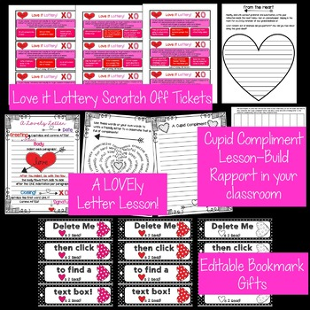 Valentine's Day Classroom Essentials Bundle!