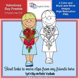 Valentine's Day Clip Art Collaborative Set