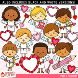 Valentine's Day Clip Art Cupid Kids