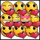 Valentine's Day Emoji Clip Art