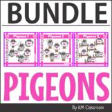 Valentine's Day Clip Art Pigeon BUNDLE