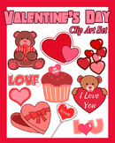 Valentine's Day Clip Art Set