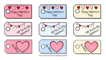 Valentine's Day Clip Art Set for Educators and SLPs {FREEBIE}