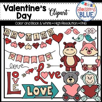 Cute Valentine's Day Clipart