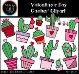 Valentine's Day Clipart - Cactus Clipart