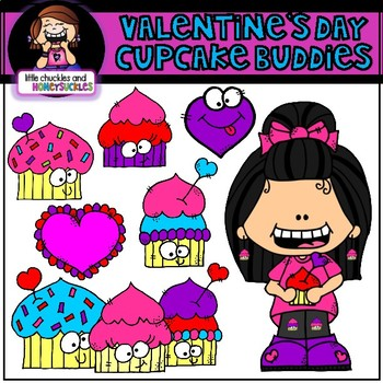 Valentine's Day Clipart Cupcake Clipart
