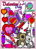 Valentine's Day Clipart (11 FREE Elements Included) Embellish Yourself Artworks