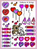 Valentine's Day Clipart (11 FREE Elements Included) Embell