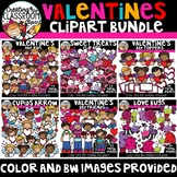 Valentine's Day Clipart Growing Bundle {Valentine's Clipart}