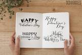 Valentine's Day Clipart, Valentine Overlays, Digital Clipart