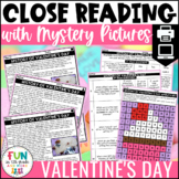 Valentine's Day Close Reads w/ Mystery Picture Activity fo