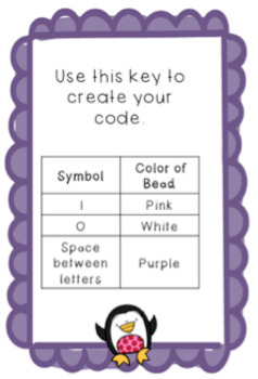 Valentine's Day Coding Bracelets or Necklaces  hour of code