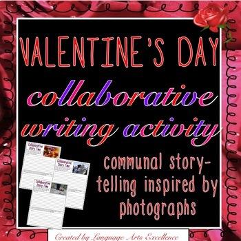 Valentine's Day Collaborative Writing Activity