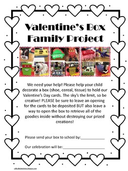 Valentine's Day Collection Box Homework Project