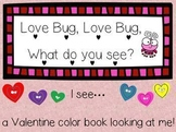 Love Bug Valentine Color Book
