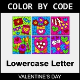 Valentine's Day: Color By Letter (Lowercase)