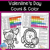 Valentine's Day Color & Count
