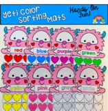Valentine's Day Color Sorting Mats