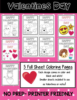 Valentine's Day Coloring