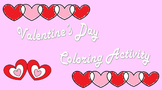Valentine's Day Coloring Activity