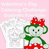 Valentine's Day Coloring Challenge: Quadratic Functions