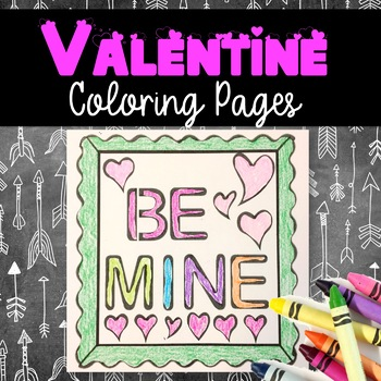 Valentine's Day Coloring Fun Sheets!