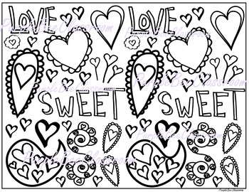 Valentine's Day Coloring Page #5