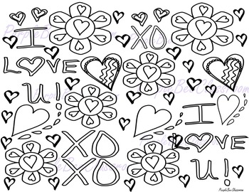 Valentine's Day Coloring Page #6