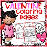 Valentine's Day Coloring Pages