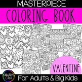 Valentine's Day Coloring Pages: Masterpieces {Made by Creative Clips}
