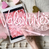 Valentine's Day Coloring Pages by Taracotta Sunrise
