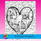 Valentine's Day Coloring Pages, Zen Doodles