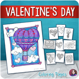 Valentine's Day Coloring Pages - Doodle