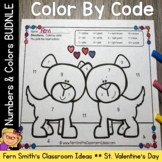 Color By Code St Valentine's Day Know Your Colors and Numb