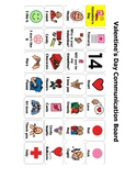 Valentine's Day Communication Board/ AAC
