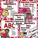 Valentine's Day Complete Classroom Bundle for Preschool, PreK, K & Homeschool