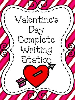 Valentine's Day Complete Writing Station
