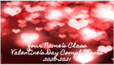 Valentine's Day Compliment Slides