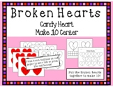 Valentine's Day Composing & Decomposing Math Center- Makin
