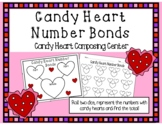 Valentine's Day Composing Kindergarten Math Center- Candy