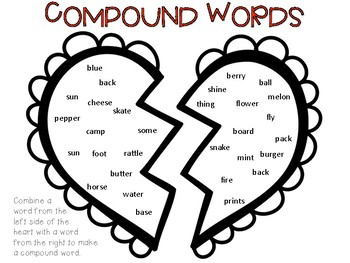 Valentine's Day - Compound Words