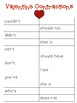 Valentine's Day - Contractions
