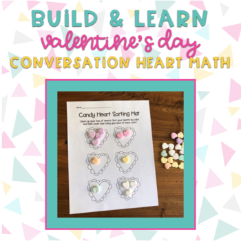 Valentine's Day Conversation Heart Math