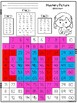Valentine's Day Conversation Hearts 100's Chart Hidden Pictures. 2 choices