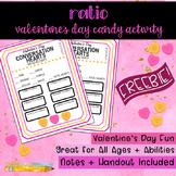 Valentine's Day Conversation Hearts Ratio