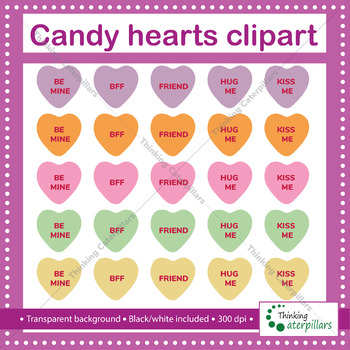 Xoxo Conversation Heart - Sweethearts - Free Transparent PNG Clipart Images  Download